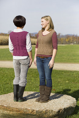 Porter Vest in Classic Elite Yarns Chalet & Chateau