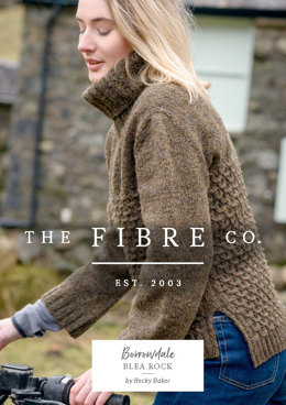 Blea Rock Sweater in The Fibre Co. Lore - Downloadable PDF