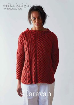 Caravan Sweater in Erika Knight Gossypium Cotton