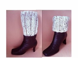 659 KNITTING pattern, boot cuffs, make them any size