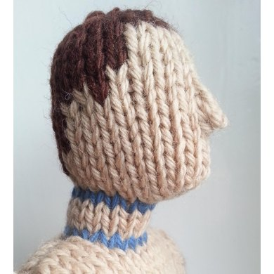 Mattress Stitch for Knitted Toys Tutorial