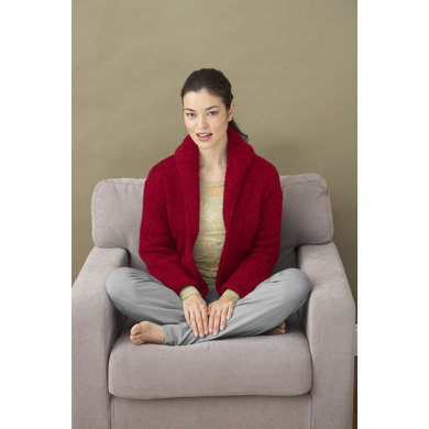 Inez Cardigan in Lion Brand Wool-Ease - 90195AD