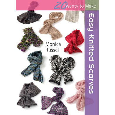 Easy Knitted Scarves