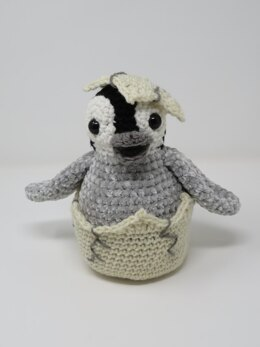Hatching Penguin Chick
