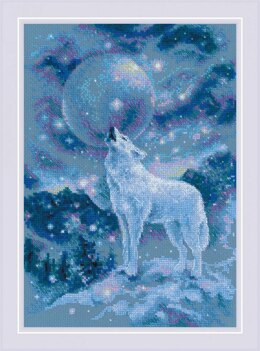 Riolis Ice Cold Wind Cross Stitch Kit - 21cm x 30cm
