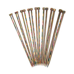 KnitPro Symfonie Single Point Needles 25cm (Set of 8)