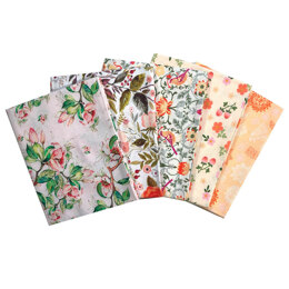 Craft Cotton Company Beautiful Florals Fat Quarter Bundle