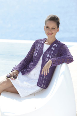 Crochet Cardigan and Waistcoat in Sirdar Cotton DK - 7072