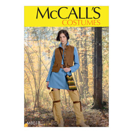 McCall's Misses' Costume M8018 - Sewing Pattern