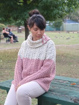Victorian Easy Cowl Sweater