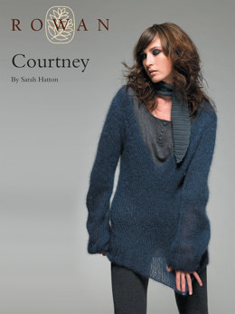 Courtney Jumper and Scarf in Rowan Kidsilk Haze