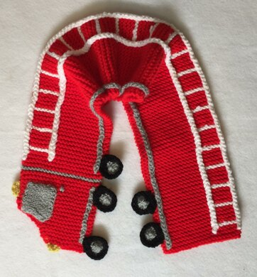 Fire Truck Neck Scarf