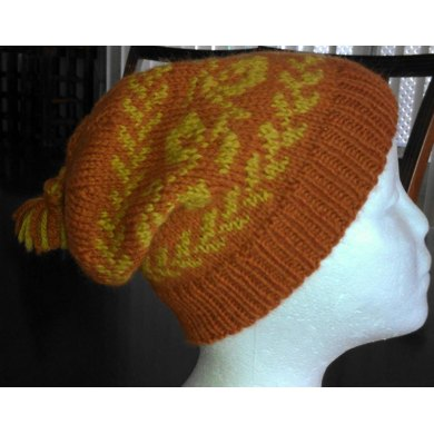 Two Color Andalusian Slouch Hat