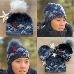 Mountains of Japan Hat