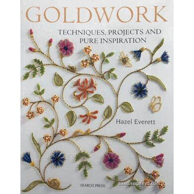 Search Press Goldwork: Techniques, Projects and Pure Inspiration - 993054 -  Leaflet