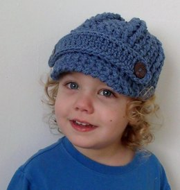 Newsboy Hat Any Size Any Yarn Hat