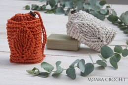 Crochet Leaf Soap Saver