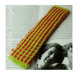 Basket Ribbed Bookmark