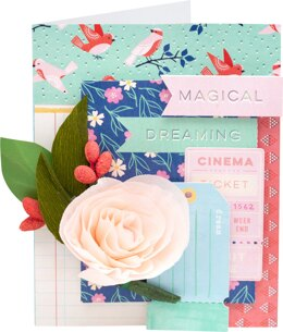 """American Crafts Single-Sided Paper Pad 12""""X12"""" 48/Pkg - Dear Lizzy She's Magic"""