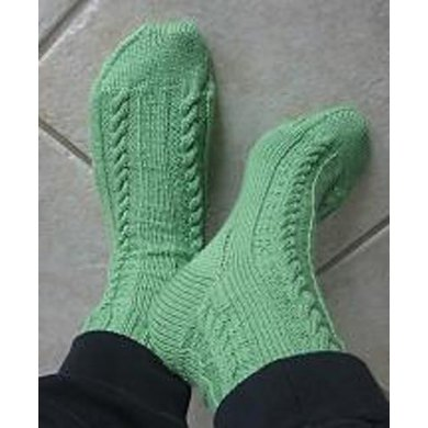 Hell's Canyon Cable Socks
