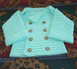 Infant's Double Breasted Sweater