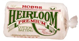 Hobbs Batting Heirloom Premium Cotton Blend 120in x 120in