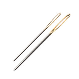 Pony Gold Eye Sewing Needles for Knitters