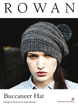 Buccaneer Hat in Rowan Cocoon - D170 - Downloadable PDF