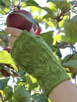 Garden of Eden Fingerless Gloves