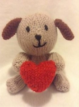 Puppy Love Choc Orange Cover / Valentine's Day Toy