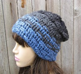 Crochet men's hat