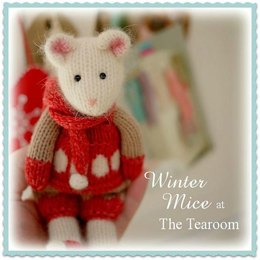 WINTER Mice at the TEAROOM