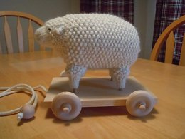 Old Fashioned Sheep Toy