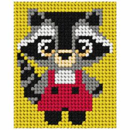Orchidea Tapestry Kit: My First Racoon - 17 x 20.5cm