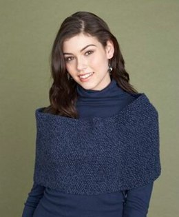 Shoulder Wrap  in Lion Brand Wool-Ease - 60731