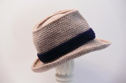 Fedora Crochet Pattern Baby Boys to Mens XX Large