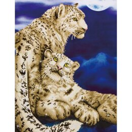 Diamond Dotz Snow Leopards Kit
