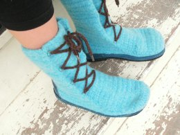 Calli Felted Boots