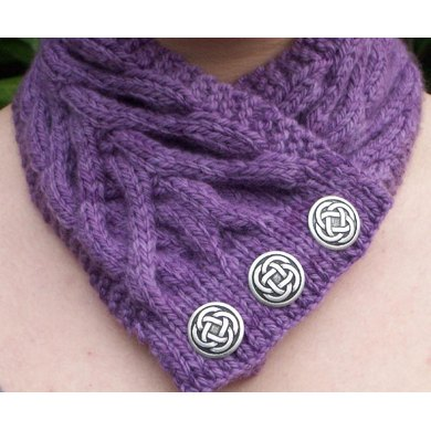 Jacqs Cabled Neckwarmer