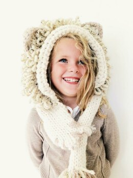 Leroy the Lion Hooded Scarf