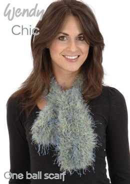 One Ball Scarf in Wendy Chic - Downloadable PDF