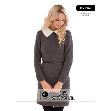 Dress in DY Choice DK With Wool - DYP169