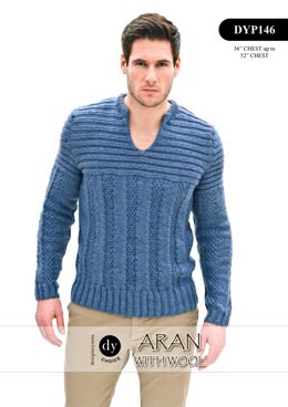 Top in DY Choice Aran With Wool - DYP146