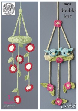 Baby Mobiles in King Cole Bamboo Cotton DK - 9037pdf - Downloadable PDF