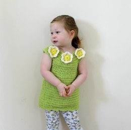 PDF18 Crochet Flower Tunic