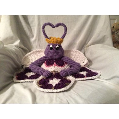 Queen Violet of the LoveBugs Security Blanket
