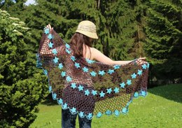 Fairy Violet Shawl