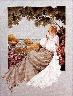 Lavender And Lace LL020 - Nantucket Rose Chart - 941840 -  Leaflet
