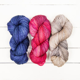 The Yarn Collective Bloomsbury DK 3 Skein Colour Pack