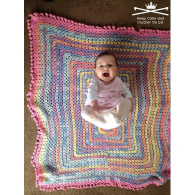 Chocolate Box Twist Baby Blanket